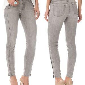 J Brand Moto Zip Lunar Skinny Jeans Size 30